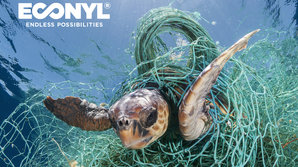 Rescue - It starts with rescuing fishing nets that would otherwise be damaging marine ecosystems.