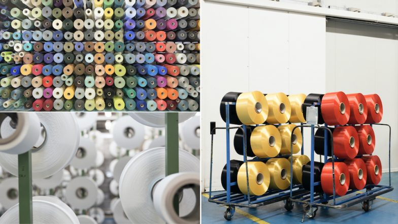Remake - The regenerated nylon is then processed into textile for the fashion industry known as Econyl.